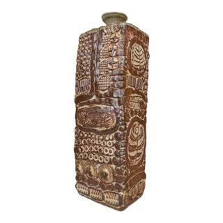 Richard Peeler Hand Made Studio Pottery Vase For Sale