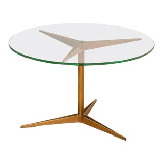 Ico Parisi Brass Occasional Table