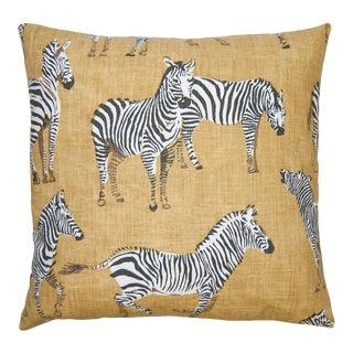 Kingdom Zebra Pillow For Sale