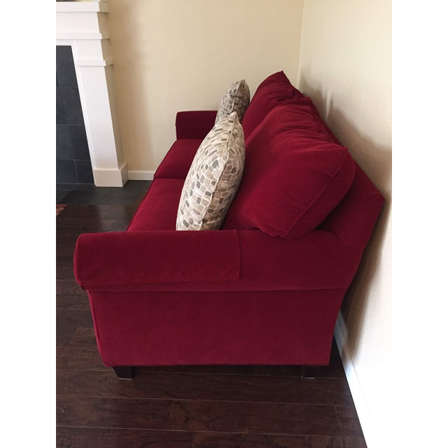 Rarely used high quality sofa from Bassett. Paid over $2000 in 2012. Was in a room that we just didn't use much. If you...