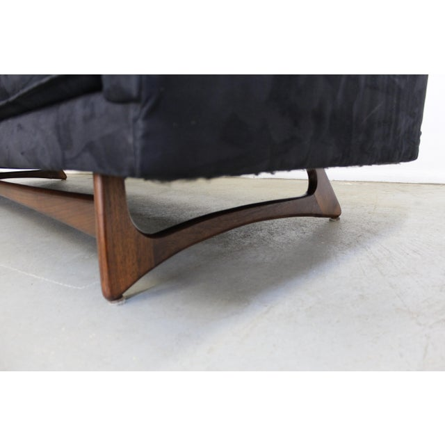 Mid-Century Modern Adrian Pearsall Craft Associates Sculptural Sofa 2408 For Sale - Image 10 of 13