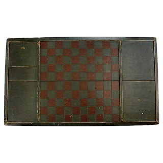 Antique New England Game Board For Sale