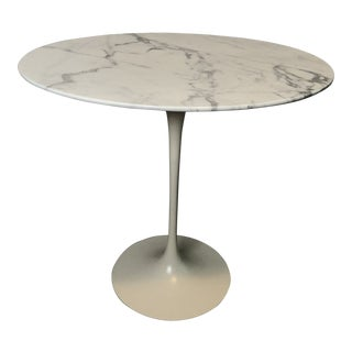 Vintage Saarinen Oval Side Table For Sale
