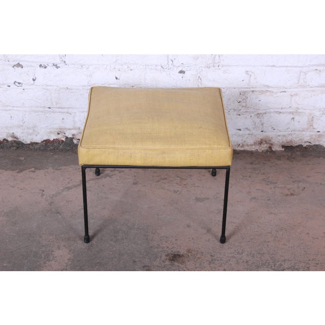 Contemporary Original Paul McCobb Stool or Ottoman For Sale - Image 3 of 7