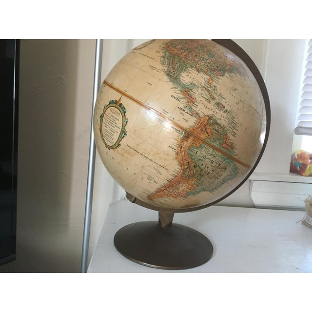 """Traditional Vintage 1990 Replogle World Classic Series 12"""" Diameter Globe For Sale - Image 3 of 13"""