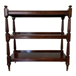English William IV Style Mahogany Dessert Trolley For Sale