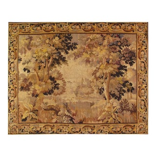 Antique 18 Century French Tapestry 7'4'' X 9' For Sale