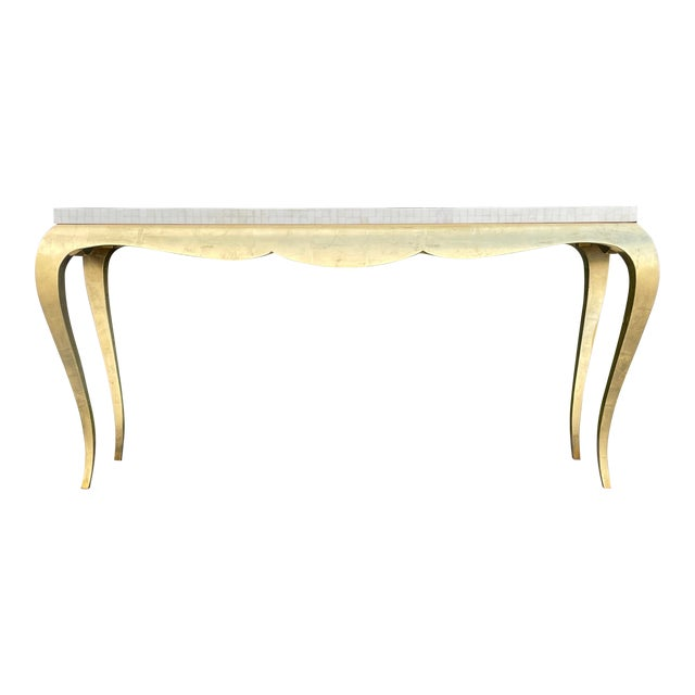Tessellated and Horn Console For Sale