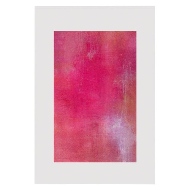 Pink Lemonade Original Modern Abstract Painting - Image 2 of 5