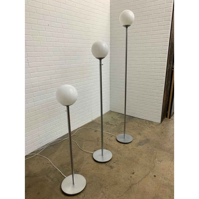 Postmodern Vintage Globe Floor Lamps by ClassiCon - Set of 3 For Sale - Image 3 of 12