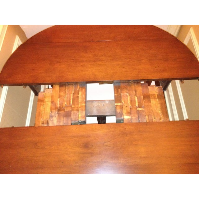 1950s Extension Waterfall Table - Image 4 of 4