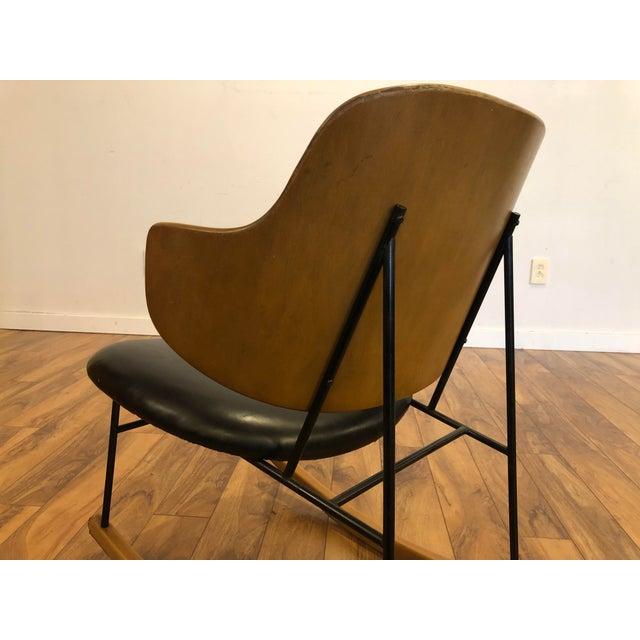 Vintage Kofod Larsen Penguin Rocking Chair For Sale - Image 9 of 12