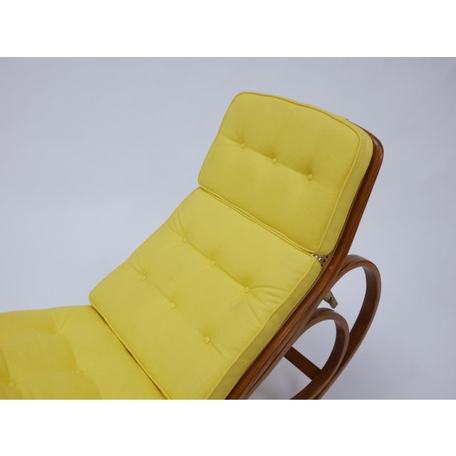 Chaise Lounge by Edward Wormley for Dunbar For Sale - Image 9 of 12