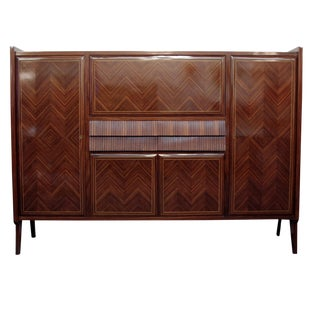 1950s Mid-Century Modern Dassi Bar / Credenza For Sale