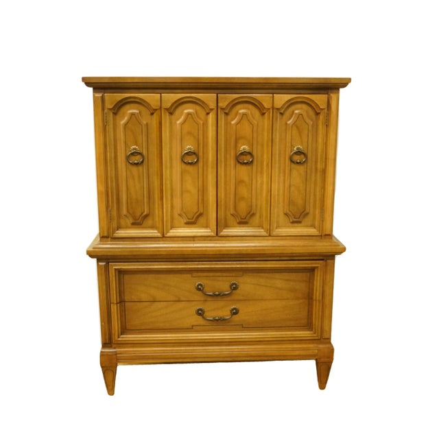 20th Century Italian Dixie Furniture Door Chest on Chest For Sale - Image 13 of 13