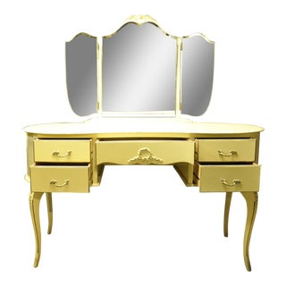 Vintage French Vanity For Sale
