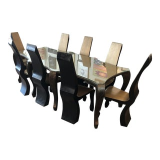Ernst Griller Dining Set W/8 Chairs For Sale