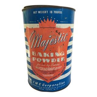 Vintage Baking Powder Tin