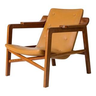 "Tove & Edvard Kindt Larsen ""Fireplace"" Chair For Sale"
