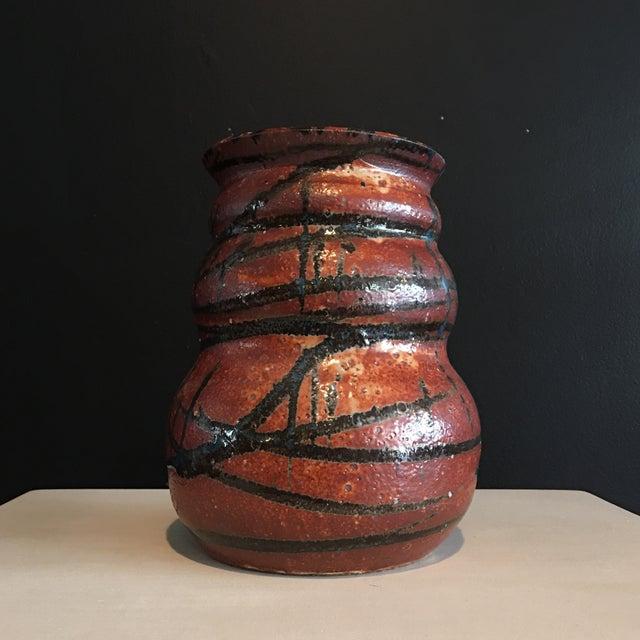 Stunning Signed Studio Glazed Pottery Vase - Image 2 of 7