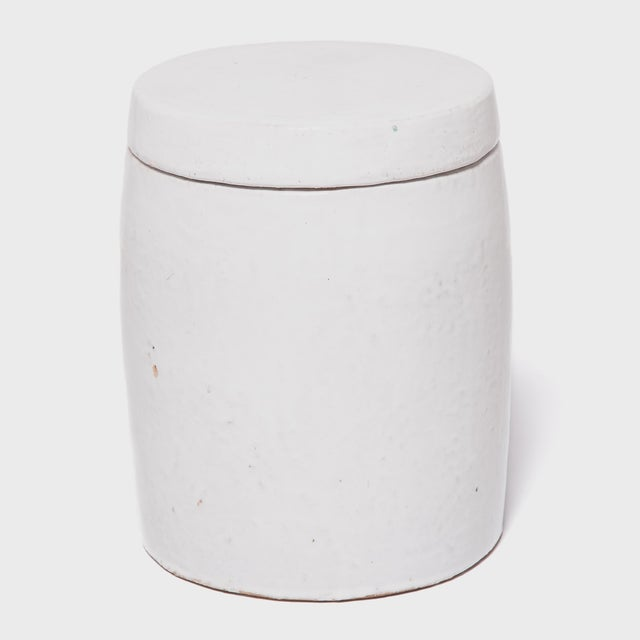 White Chinese Apothecary Container For Sale - Image 4 of 6