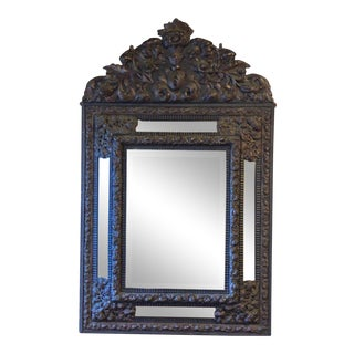 Vintage French Bride's Mirror For Sale