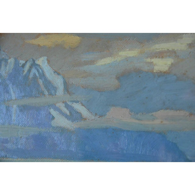 Rare Pair of Framed Oil Paintings by Ivan Da Silva Bruhns For Sale In Los Angeles - Image 6 of 10