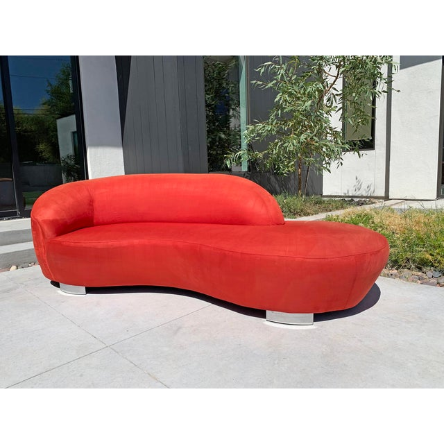Metal Vladimir Kagan Cloud Sofa For Sale - Image 7 of 7