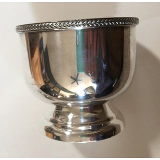 1940s Silver Plated Gravy/Sauce Server Bowl With Lid and Saucer - a Pair Preview