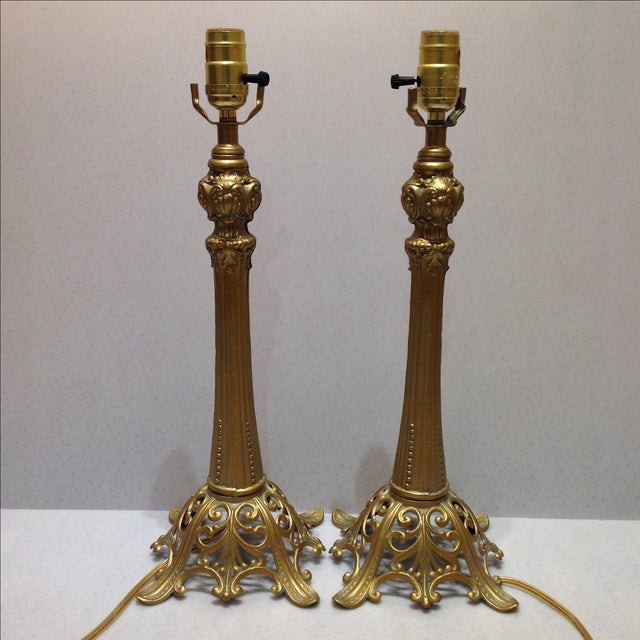 Loevsky & Loevsky Table Lamps - A Pair For Sale - Image 5 of 8