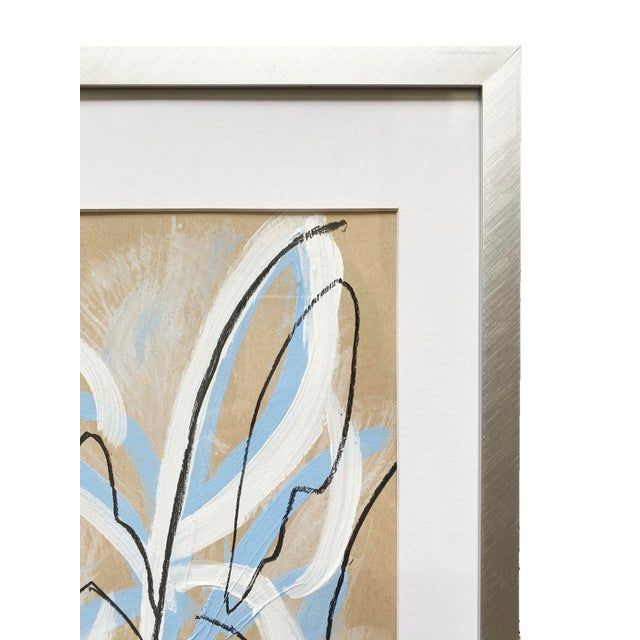 """Abstract """"May Bloom"""" Painting by Parrish Hoag For Sale - Image 3 of 4"""