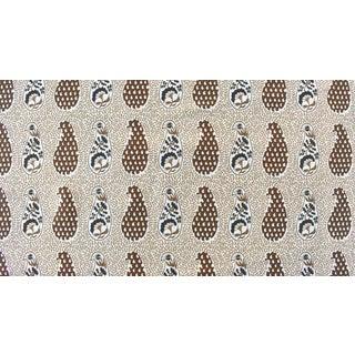 Virginia Kraft Jangal Supreem Fabric, Sample in Naturals For Sale