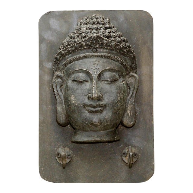 Buddha Head Wall Hook - Image 1 of 4