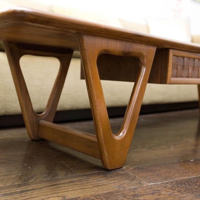 Lane Perception Coffee Table in Walnut - Image 10 of 11