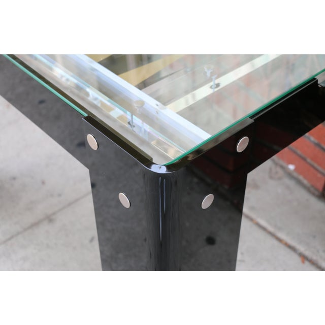 1970s Vintage Lucite Backgammon and Chest Game Table For Sale - Image 5 of 13