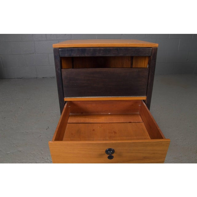 Small Steelframe Stereo Cabinet Side Table by George Nelson for Herman Miller For Sale In Boston - Image 6 of 9