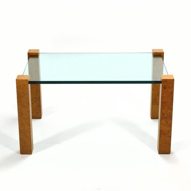 Contemporary Harvey Probber Cube Leg Table For Sale - Image 3 of 10