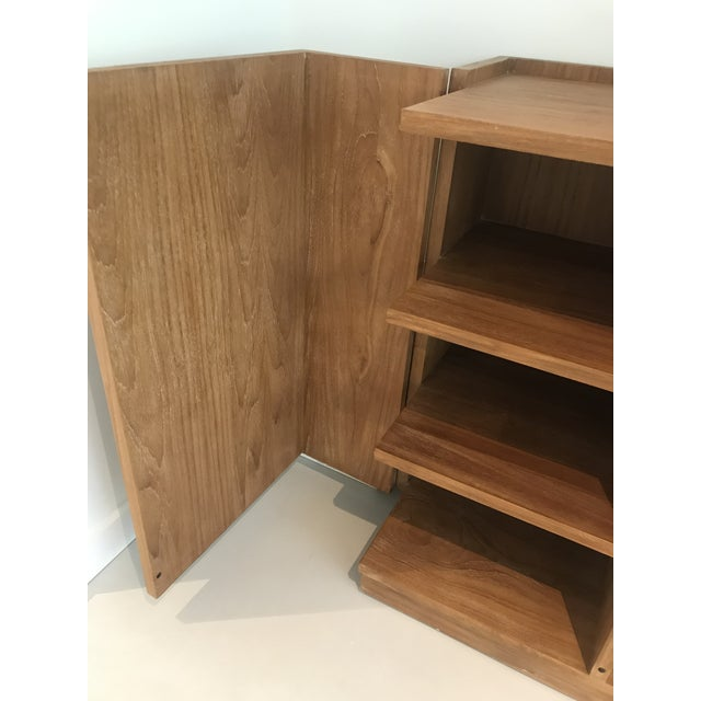 2010s Mid-Century Modern Ralph Lauren Home Sonora Canyon Teak Sideboard For Sale - Image 5 of 10