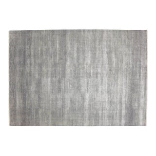 Transitional Gray Rug With Minimalist Style, Contemporary Bauhaus Design - 9'10x14'2 For Sale