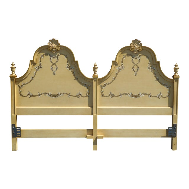 Kindel Vintage French Country King Headboard - Image 1 of 11