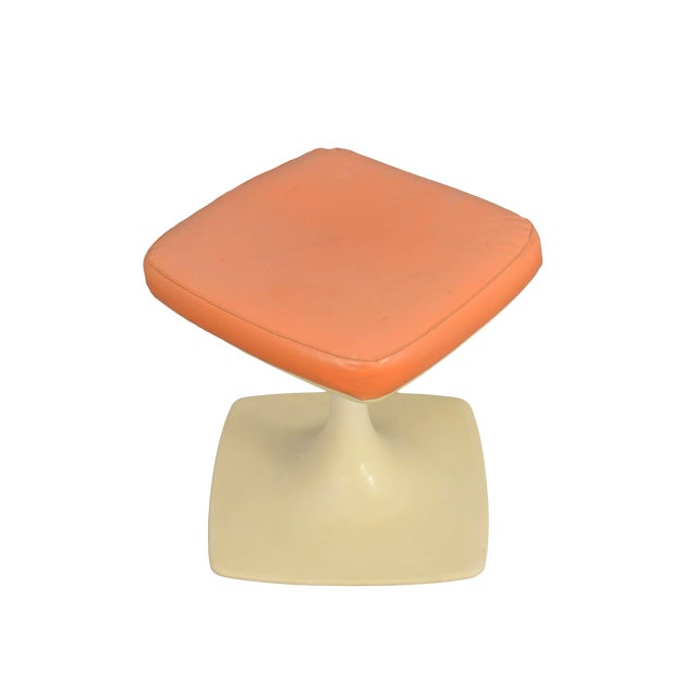 Tulip Based Stool Vanity Seat For Sale