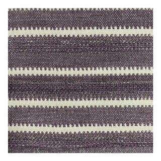 Heavyweight Dusty Purple Woven Designer Fabric- 1 2/3 Yards For Sale