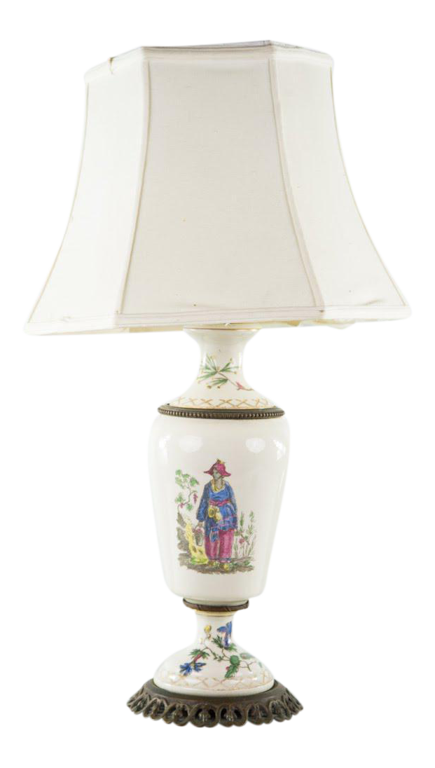 urn table lamp greek antique 20th c french porcelain urn table lamp chairish
