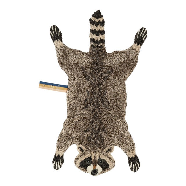 Doing Goods Racoon Rug Large For Sale