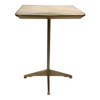 Modern Caracole Agate Style Accent Table For Sale
