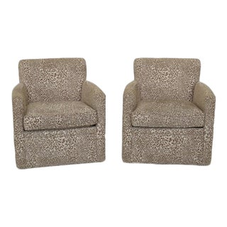 Ferguson Copeland Mid Century Modern Design Club Chairs - a Pair
