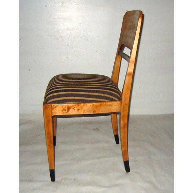 Swedish Biedermeier Accent Chair - Image 4 of 7