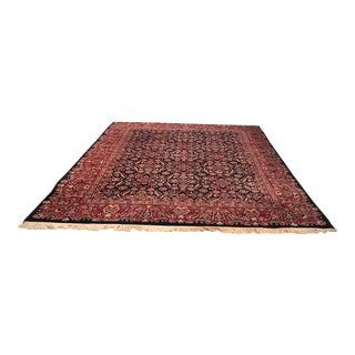 Large Traditional Oriental Rug - 7′9″ × 10′ For Sale