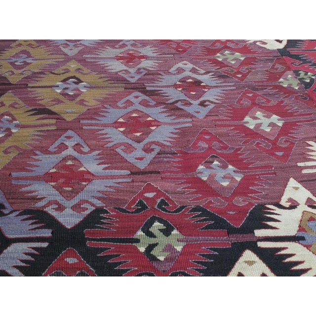 Traditional Adana Kilim For Sale - Image 3 of 7