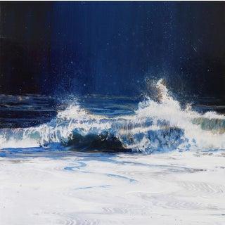 """Ocean Gaze No.4"" Original Painting by Steven Nederveen For Sale"